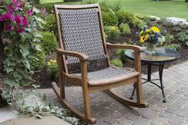the best styles of outdoor rocking chairs styles designs patio rocking chair resin