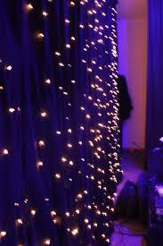 a homemade version of star fabric fire retardant fabric christmas lights black fabric lighting