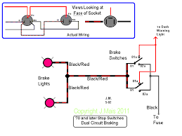 speedy jim's home page, aircooled electrical hints how to wire a light switch and outlet at Typical Light Switch Wiring Diagram