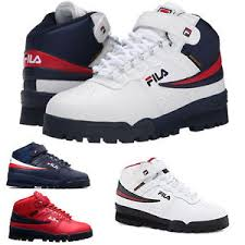 fila high tops mens. image is loading new-mens-fila-f13-f-13-mid-high- fila high tops mens