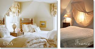 Comparison Of Authentic French And American French Style Bedroom Decor