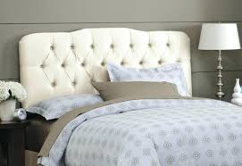 White Tufted Headboard Queen And Footboard Upholstered. Tall White Tufted  Headboard Queen Bedroom Furniture Velvet King. Cheap White Tufted Headboard  Full ...