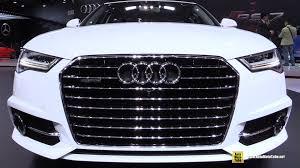audi 2015 a6 interior. 2015 audi a6 tdi quattro sline exterior and interior walkaround detroit auto show youtube