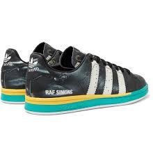 Raf Simons Adidas Size Chart Adidas Originals Samba Stan Smith Printed Leather Sneakers
