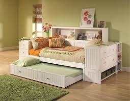 Holland House Belmar Youth Bookcase Day Bed With Louvre Panels Full Size  Daybed With Storage Drawers Full Size Daybed With Drawers Phoenix Full  Daybed With ...