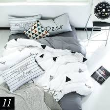 pure cotton 4 bedding set and white duvet covers linens king waffle cover size black contain