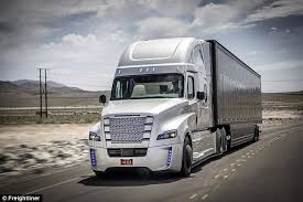 Daimler say self-driving trucks are just TWO years away | Daily Mail ...