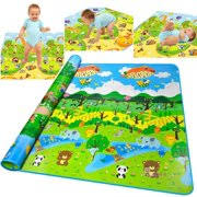 floor mats for kids. Baby Crawling Play Mat Kids Childrens Toddlers Floor Game PlayMat 200x180cm Mats For