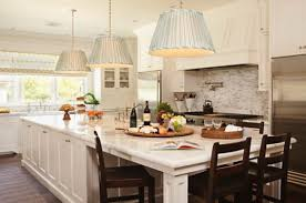 Modern Kitchen Islands With Large White Table Home Decor Ideas