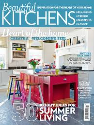 Beautiful Kitchens Magazine Beautiful Kitchens July August 2013 Issue On Sale Today