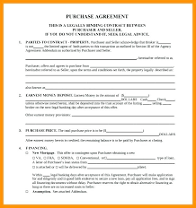 Property Sales Contracts Impressive Purchase Sale Agreement Template