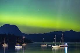 Northern Lights Ltd Vancouver Photos Aurora Borealis Light Up Night Sky Above B C