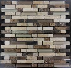 ms215 glass tile and stone mosaic backsplash