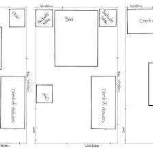 small master bedroom furniture layout. Modren Bedroom Room Sketch Layout Variants Small Advice To Small Master Bedroom Furniture R