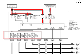 nissan 2004 350z headlight wiring diagram example electrical Infiniti QX56 Fuse Box Diagram no headlights when you turn on the switch rh justanswer com nissan 350z fuse box 2007 nissan 350z headlights