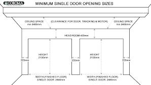 single car garage door size size of single car garage single car garage door size two