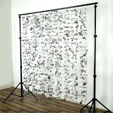 at home photo booth x flowers backdrop curtain diy kit homemade frame