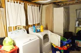 Basement Laundry Room Makover Idea Before And After Plus Design - Ununfinished basement before and after