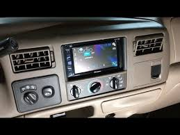 1998 2004 ford f 250 f 350 excursion touch screen stereo Pioneer Wiring Harness 2002 F250 1998 2004 ford f 250 f 350 excursion touch screen stereo install Pioneer Wiring Harness Color Code