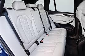 2018 bmw x3 m40i interior rear seats 01 erika pizano october 4 2017