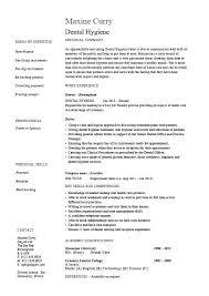 Dental Hygiene Resume Cover Letter Orlandomoving Co