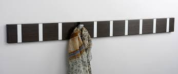 knax 10 smoked oak wood wall rack by loca denmark