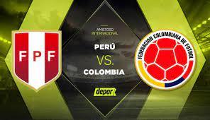Peru vs Colombia amistoso - Home