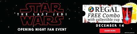 regal garden fan star wars event the last at partiting cinemas cinema grove showtimes promotional banner