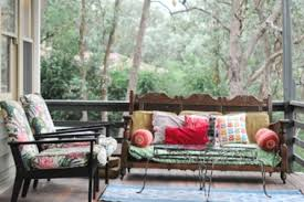 eclectic outdoor furniture. Colorful Outdoor Furniture Eclectic Patio San. Source : Nicety , Design Sponge U
