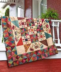Quilt Pattern Midnight Blooms (Instructions) |