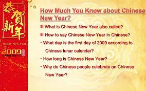 Chinese New Year Ppt Chinese New Year Ppt