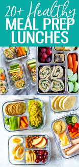 healthy meal prep lunch ideas for work