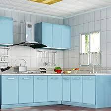 KINLO 5M Vinilo Pegatina De Mueble De Cocina, La Protección De Armarios De  Engomada Del
