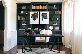 office bookshelves designs. Bookshelves Office Black Built In Home Transitional With Desk Chair Decorator Showcase Sheepskin Designs S