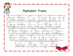Free Printable Alphabet Tracing Worksheets For Kindergarten