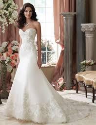 elegant strapless mermaid vestido de noivas 2015 luxury satin lace