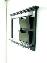 hanging mail holder wall hanging l organizer mounted bill mount target popular letter key rack holder