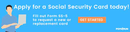 using form ss 5 to apply for a social