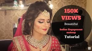 beautiful indian enement makeup tutorial glittery eye makeup for indian brides shweta gaur