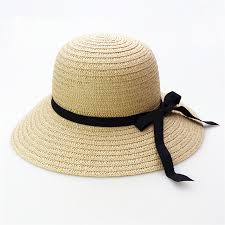 New summer Beach Caps hats hat shading is prevented bask in outdoor straw Women