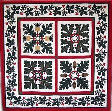 Santa Believe Christmas Quakertown Quilts Quilt Pattern | eBay & Washingtonian Applique BOM Come Quilt Sue Garmen Quakertown Quilts 5  Pattern Set Adamdwight.com