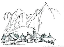 mountain lion coloring pages mountain lion coloring pages mountain coloring pages coloring pages of mountains village