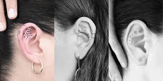 Girl Tattoos Behind Ear Designs 20 Ear Tattoos And Designs For 2020 Behind The Ear Tattoo