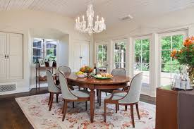 oval rugs for dining room le