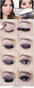 monolid eye makeup looks 1 the clic smokey eye