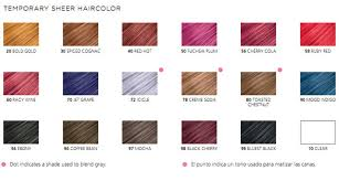 Hair Rinse Color Chart Pin Jazzing Hair Color Rinse Ruby Red Wonderfulclip On Best