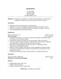 Resume Objective Examples For Software Architect Perfect