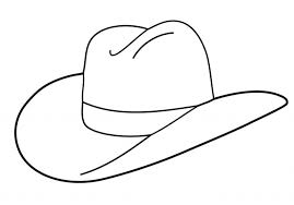 Small Picture Elegant Cowboy Hat Coloring Page pertaining to Your property