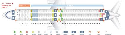 United 767 Seating Chart Air Canada Rouge Fleet Boeing 767 300er Details And Pictures