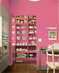 pink wall paintPink Kitchen Ideas and Color Schemes
